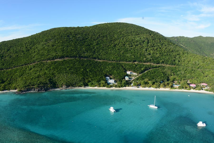 Living on Jost van Dyke in the British Virgin Islands