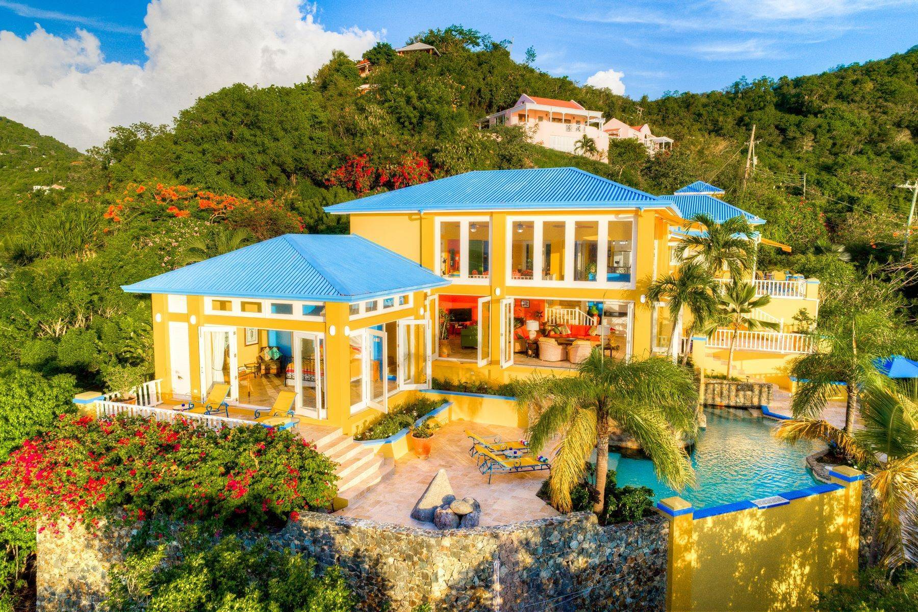 27. Single Family Homes for Sale at Long Bay, Tortola British Virgin Islands