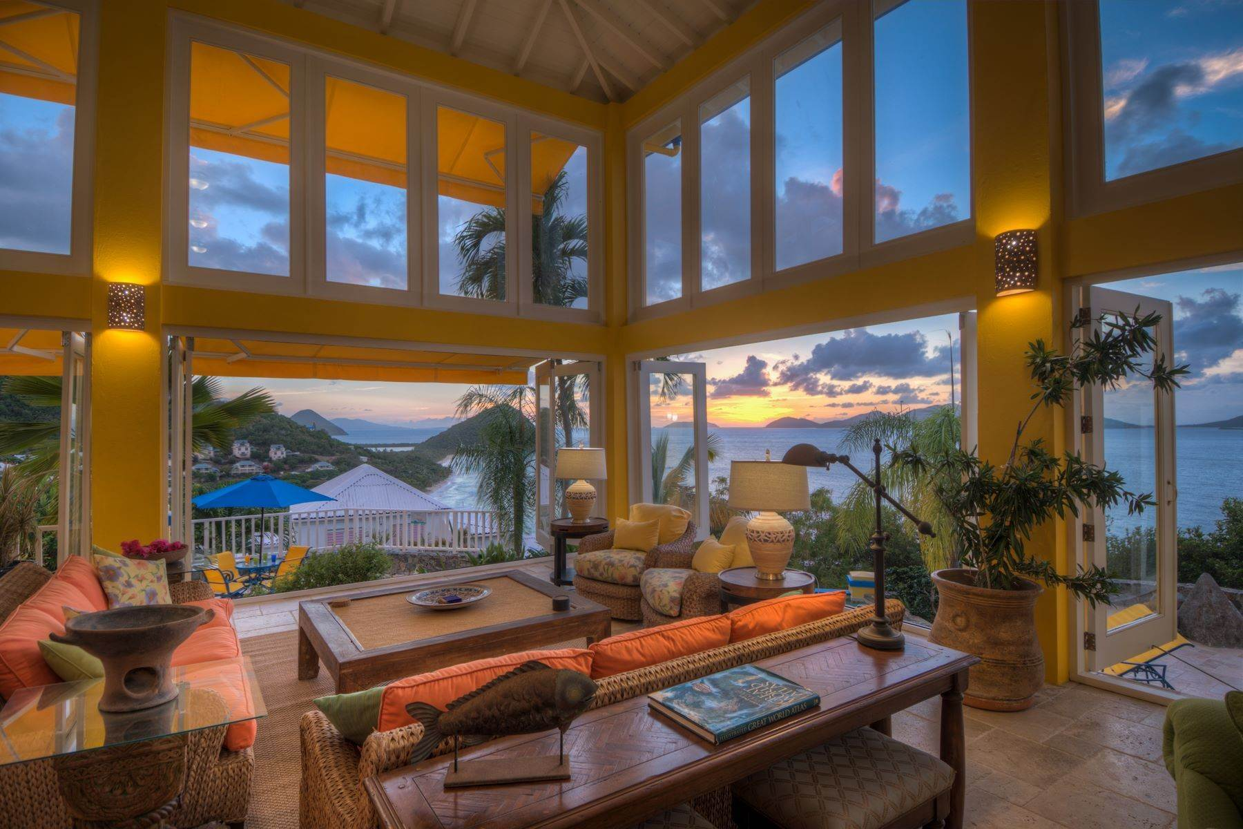 40. Single Family Homes for Sale at Long Bay, Tortola British Virgin Islands