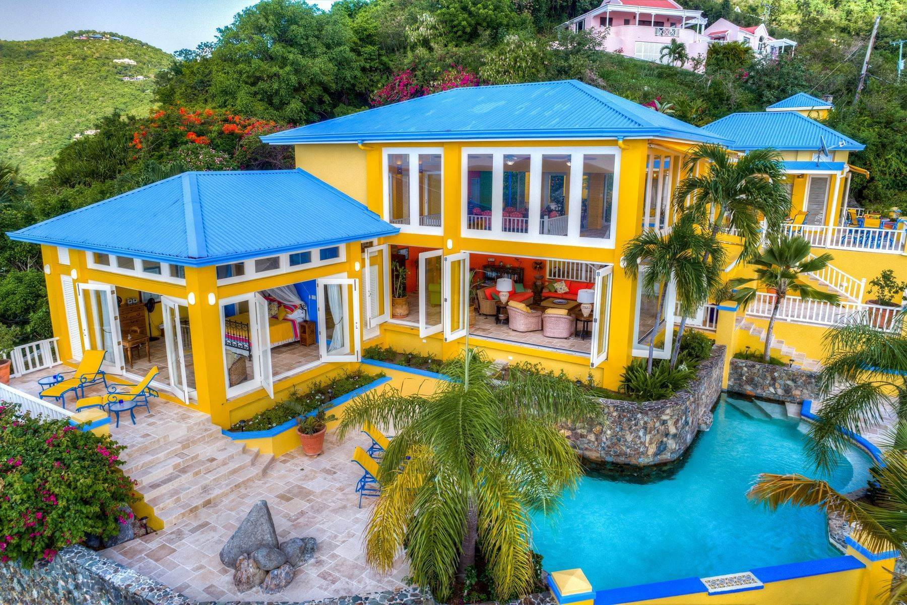 32. Single Family Homes for Sale at Long Bay, Tortola British Virgin Islands