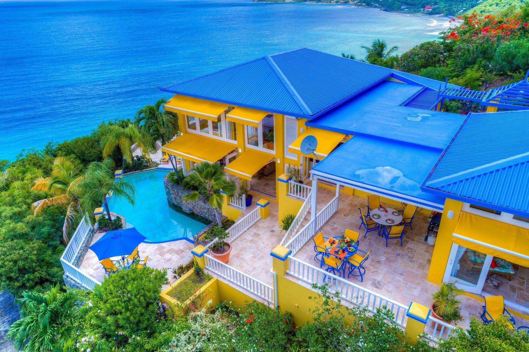 34. Single Family Homes for Sale at Long Bay, Tortola British Virgin Islands