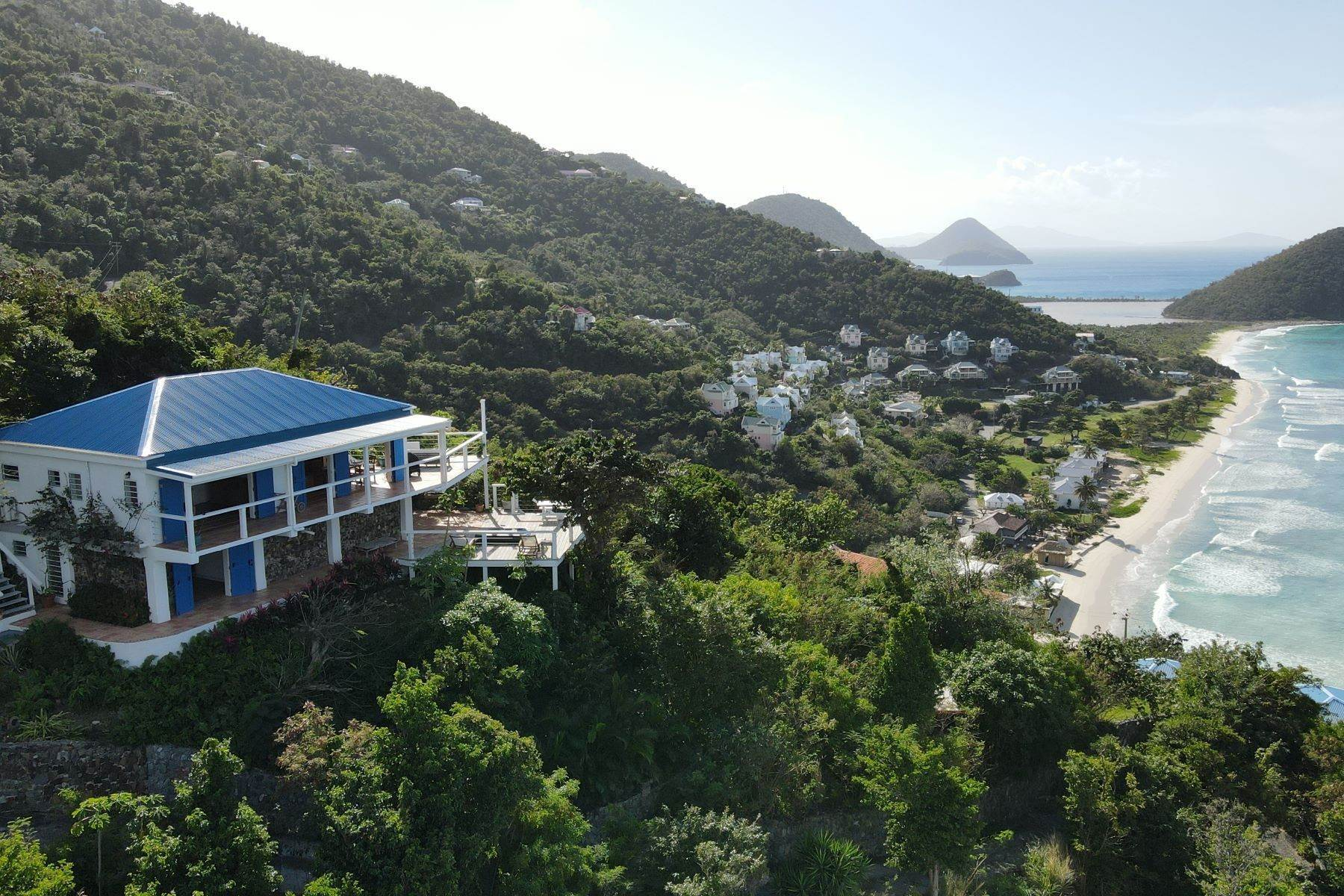 Single Family Homes per Vendita alle ore Long Bay, Tortola Isole Vergini Britanniche