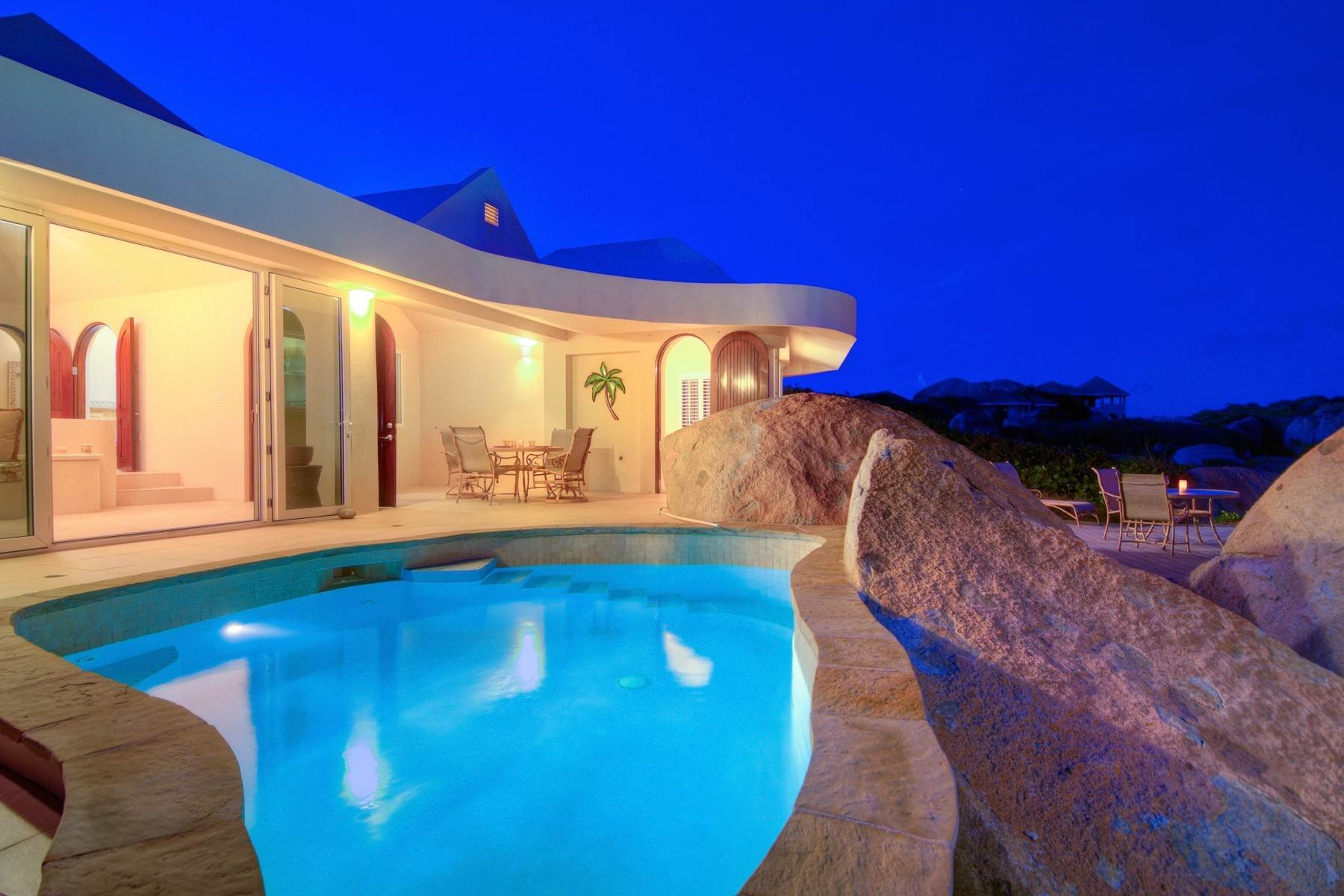 32. Single Family Homes for Sale at Crook Bay, Virgin Gorda British Virgin Islands