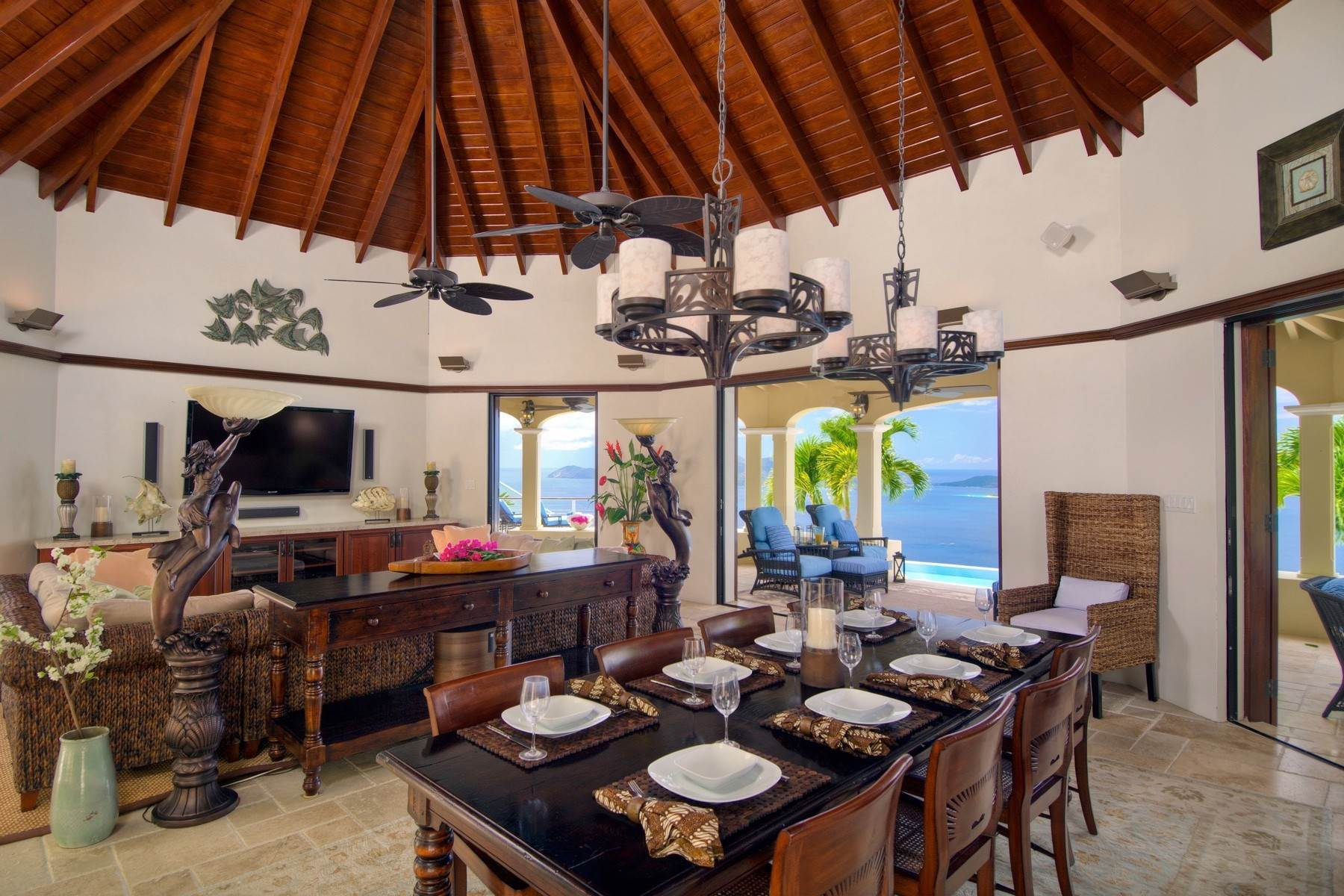 9. Single Family Homes for Sale at Long Bay, Tortola British Virgin Islands