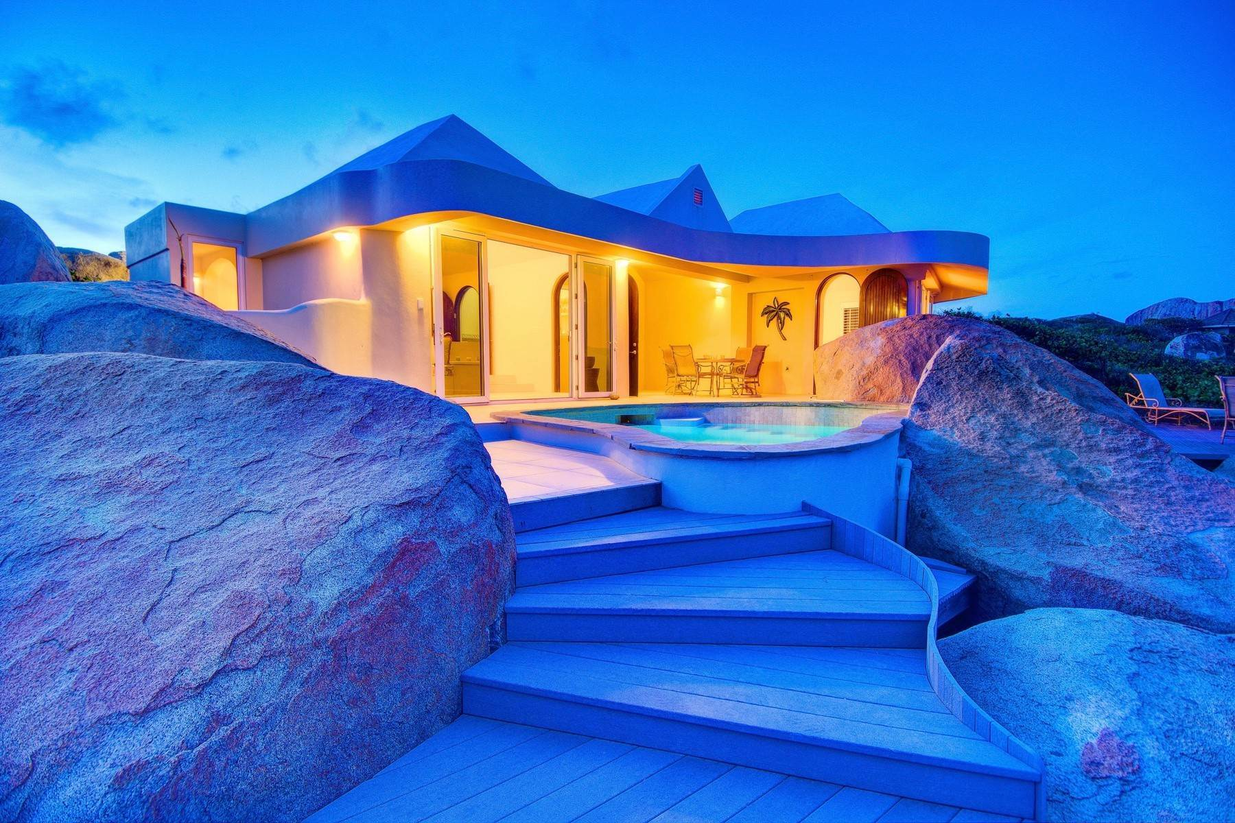 34. Single Family Homes for Sale at Crook Bay, Virgin Gorda British Virgin Islands